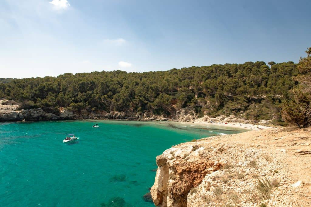 Cala Escorxada in Menorca, Spain