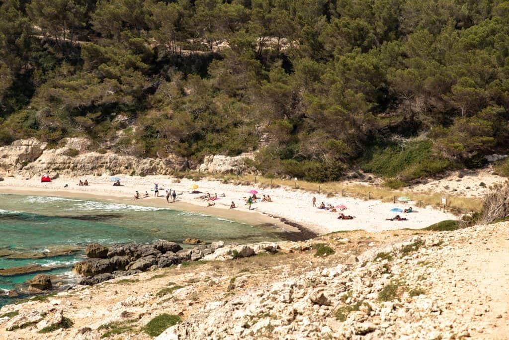 Cala Escorxada in Menorca, Spain