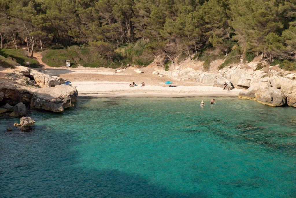 Cala Fustam, Menorca, Spain