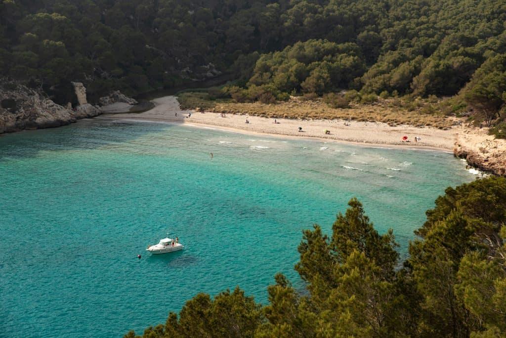 Cala Trebalúger, Menorca, Spain