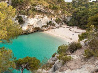 Cala de la Macarelleta, Menorca, Spain