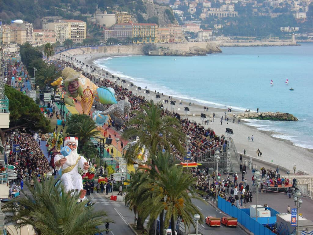 The Nice Carnival is one of the most iconic festivals in France.