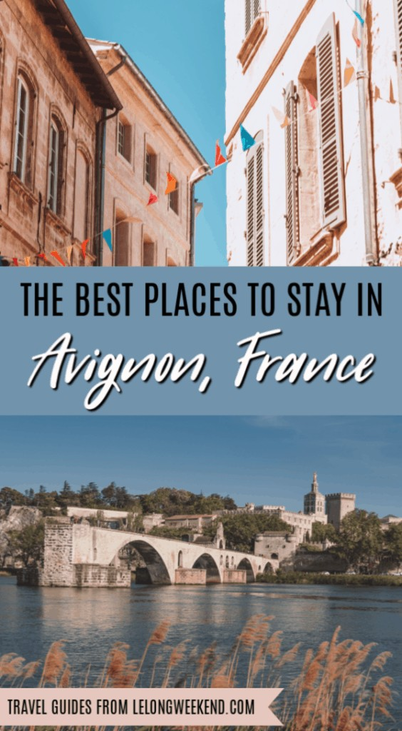 Avignon is a beautiful city in Provence with plenty to see & do. It's also a fantastic place to base yourself in order to explore the wider region. If you're looking for the best place to stay in Avignon, we've got you covered! We've hand selected the very best Avignon hotels so you can rest well after a day's exploring. #provence #france #avignon