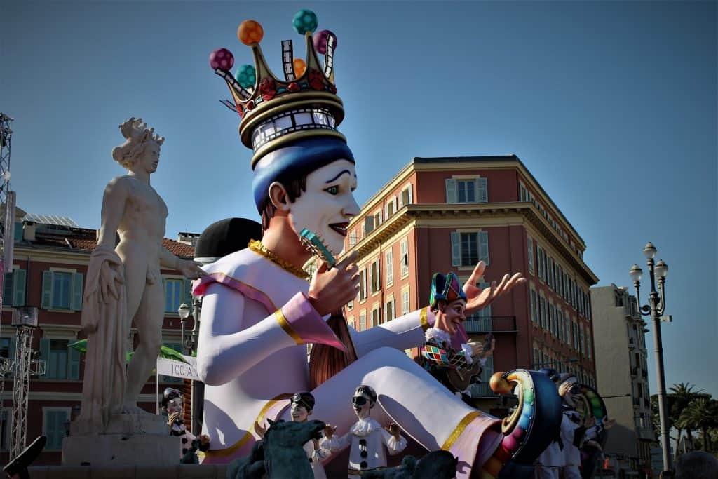 Mardi Gras Carnival in Nice