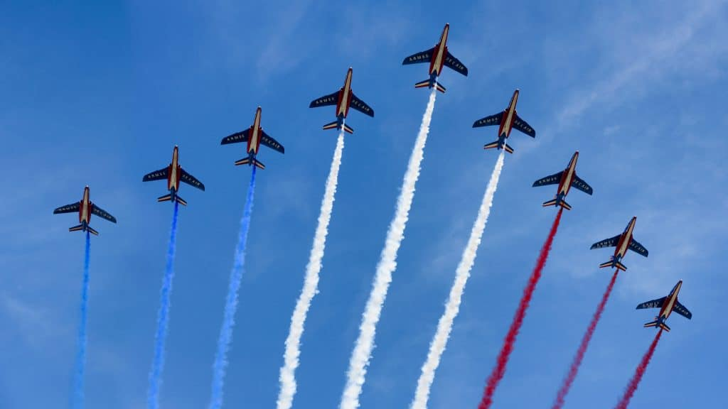 Bastille Day Flyover, Paris, France