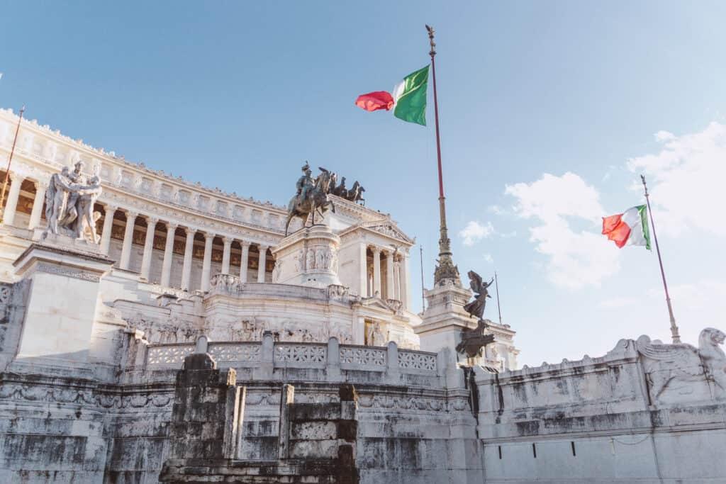 Piazza Venezia in Rome