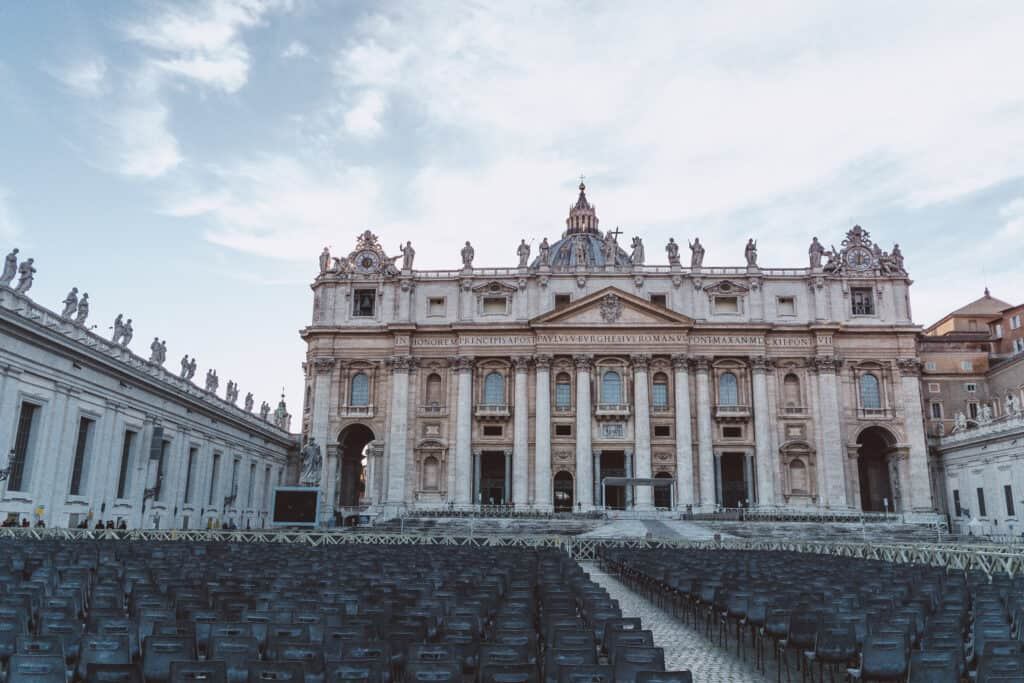 Vatican City is a must do on your Rome Itinerary