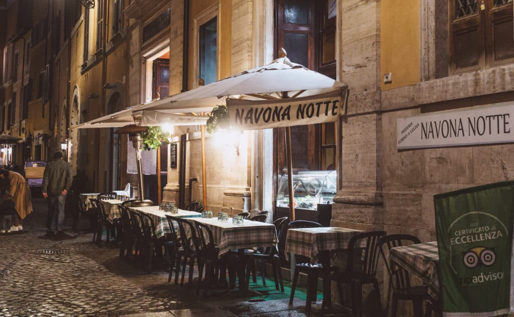 Where to eat in Rome, Italy