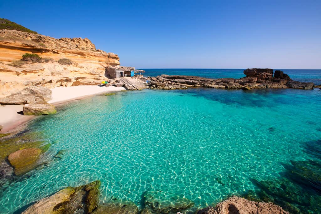 The Island of Formentera is one of the most beautiful islands in Spain