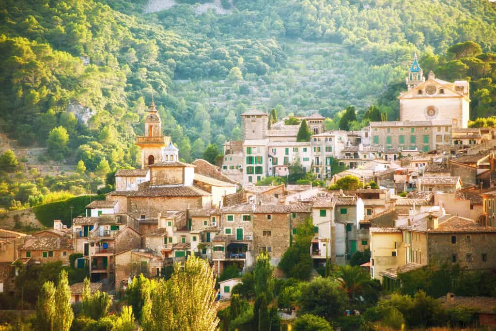 Valldemosa village in Mallorca