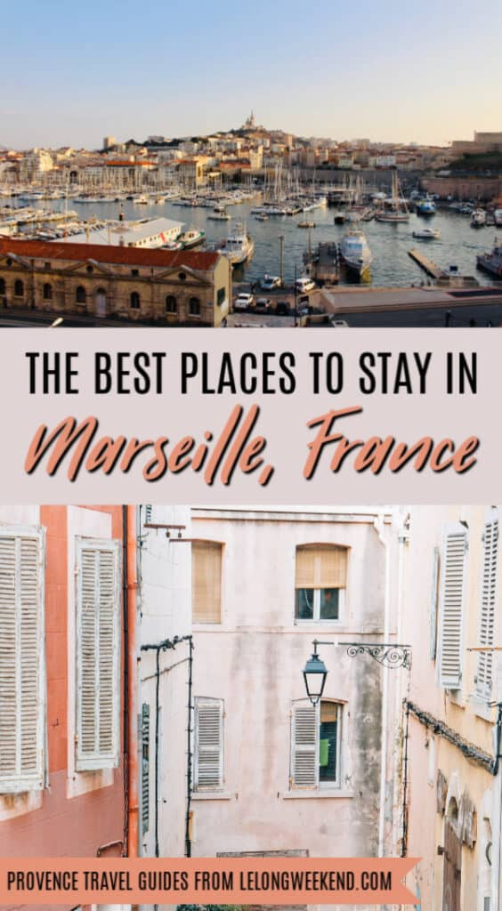 Marseille is France's second largest city, and choosing the best places to stay can be rather intimidating. That's why we've taken the guess work out of your decision and rounded up the best hotels in Marseille, France! #marseille #france #provence