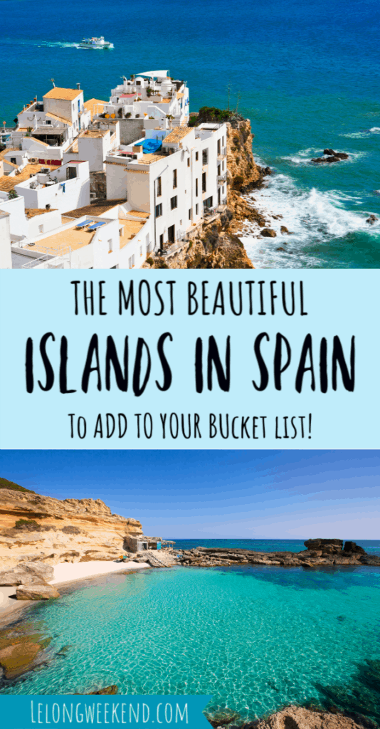 The islands of Spain are as diverse as they are dazzling. But which one is right for your holiday style? Find everything you need to know about the best islands in Spain right here! #spain #europe #balearics #cananries