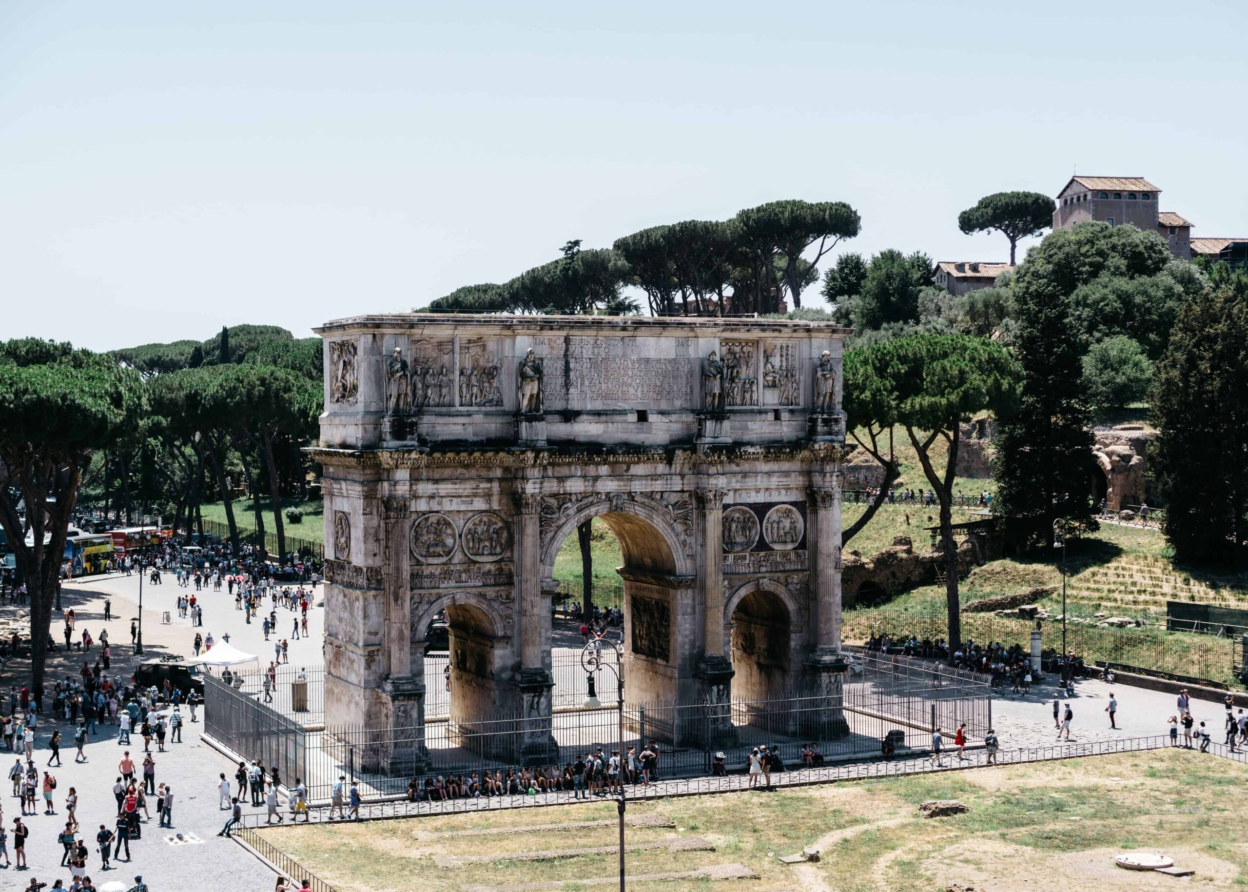 One day in Rome - A self guided walking tour of Rome.