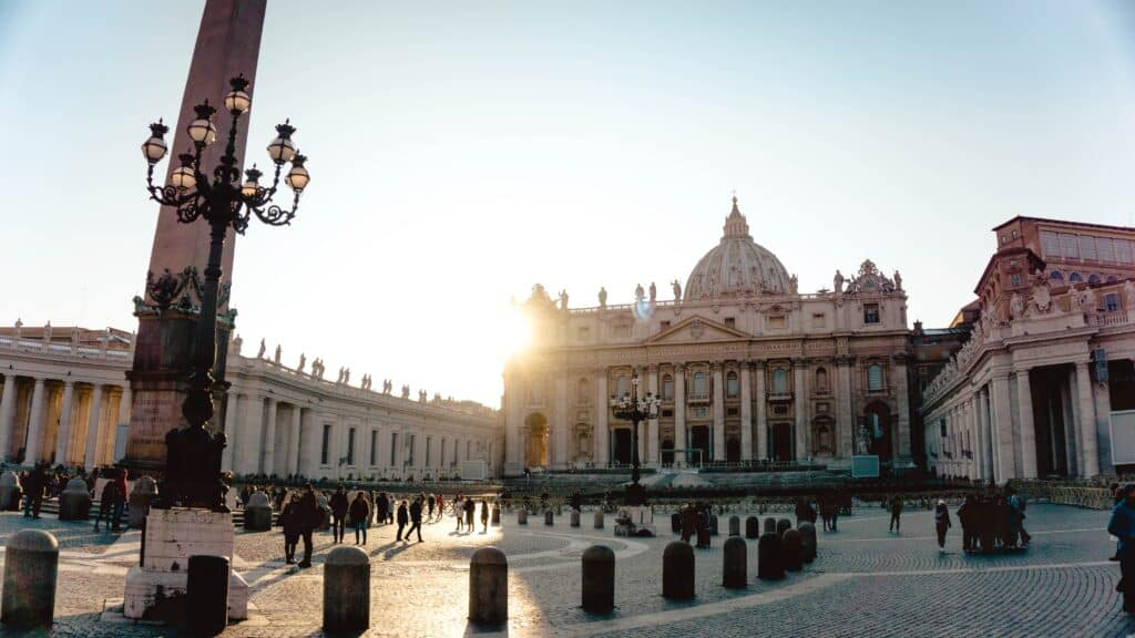 Vatican City is a key stop on a self-guided walking tour of Rome, Italy