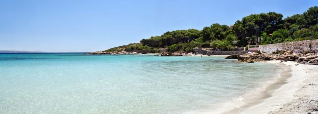 Isola di San Pietro near Sardinia, Italy