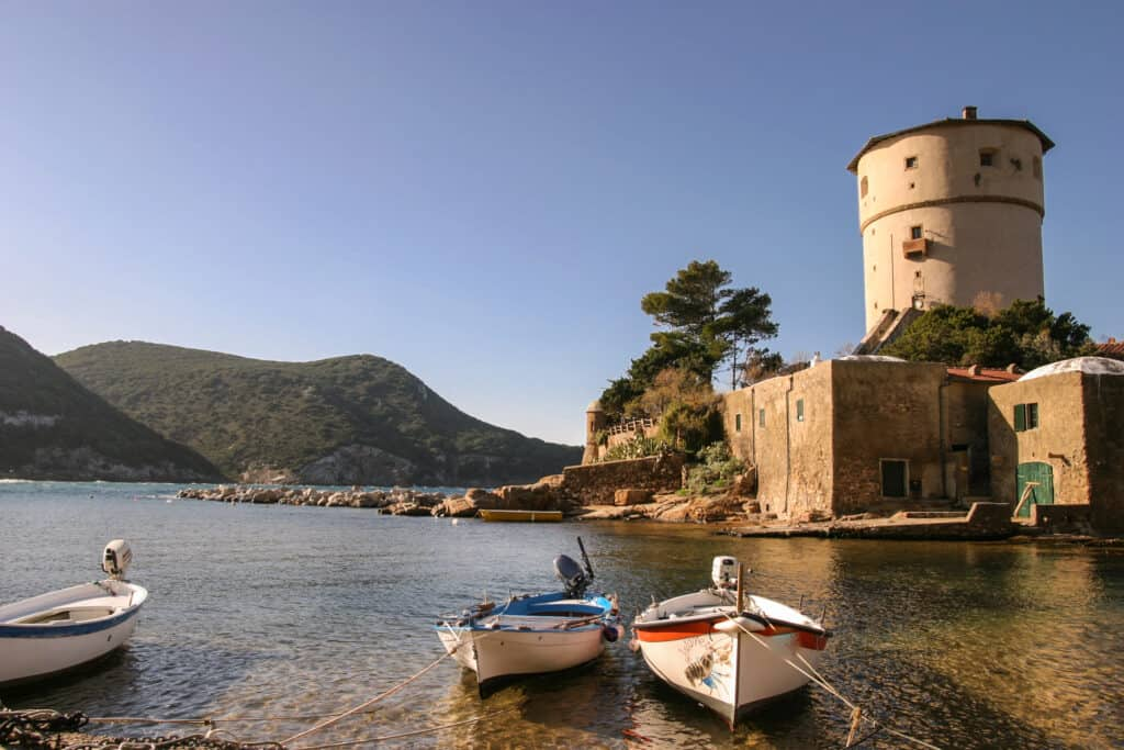 Isola del Giglio - A picturesque Island of Italy