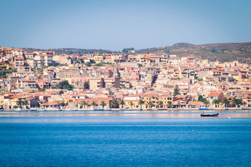 Sant'Antioco is the largest island in Sardinia, Italy.