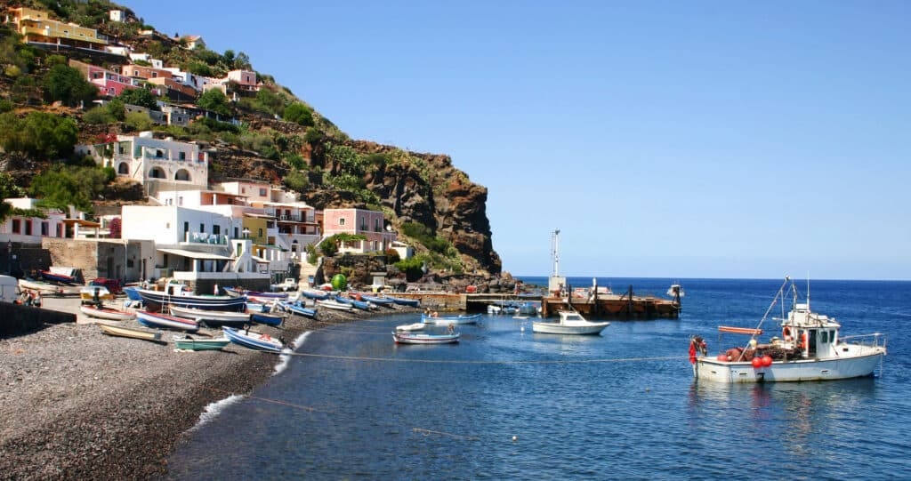 Alicudi is one of the most remote Islands of Italy