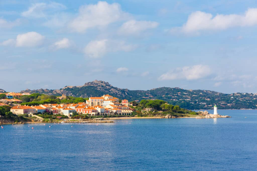 La Maddalena Island off the coast of Sardinia, Italy.