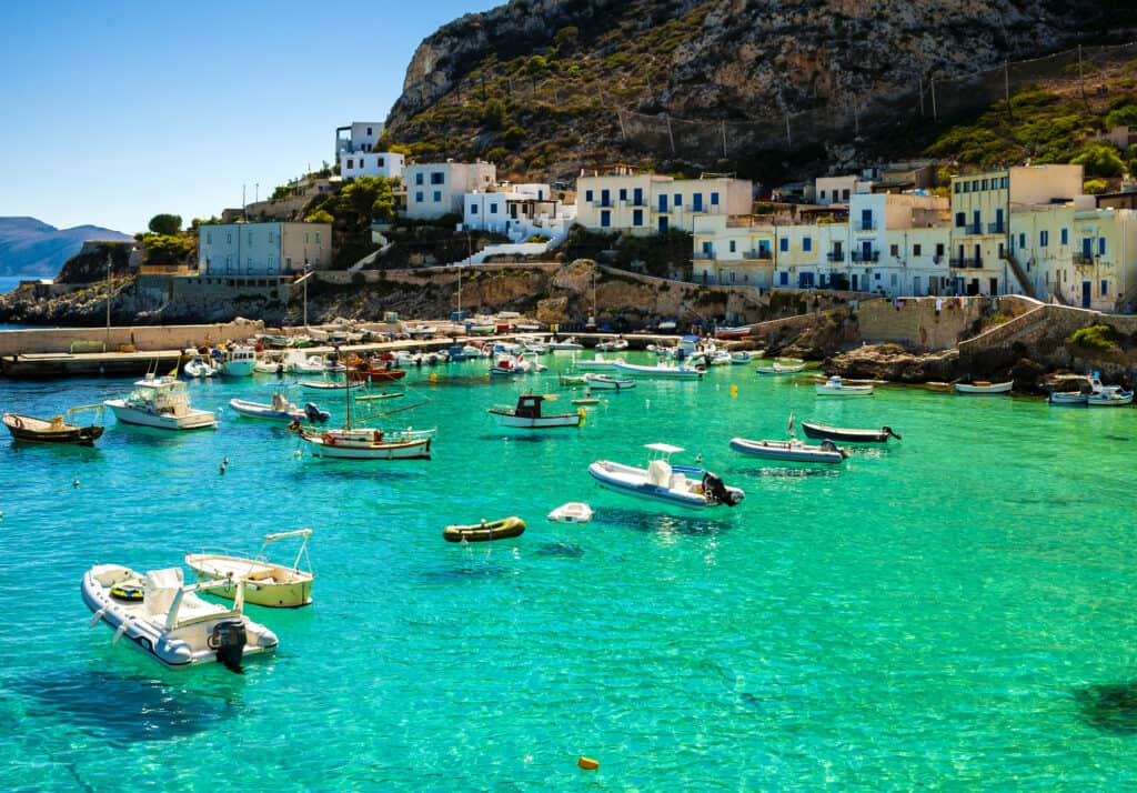 The stunning Levanzo Island in Italy