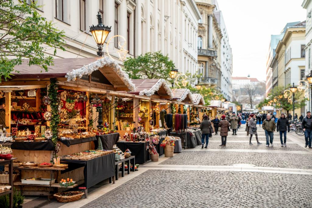 Budapest, Hungary in December