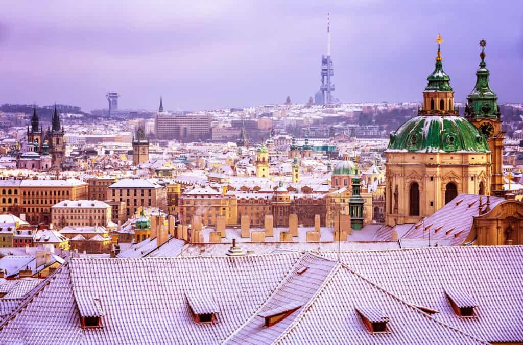 Prague, Czech republic - Europe in December