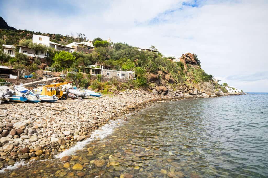 Panarea Island in Italy