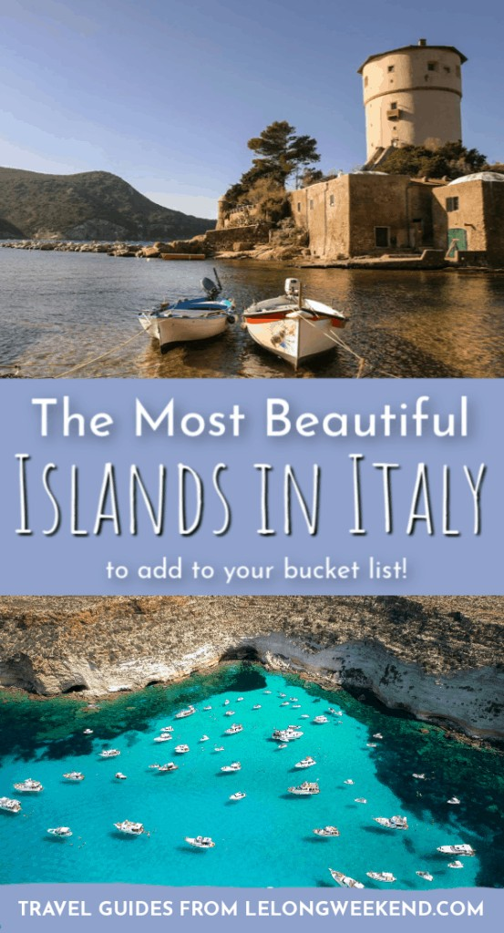 Looking for your next Italian Islands getaway? We've rounded up the dreamiest islands in Italy to get your dreaming of la dolce vita! #Italy #islands #vacation #europe