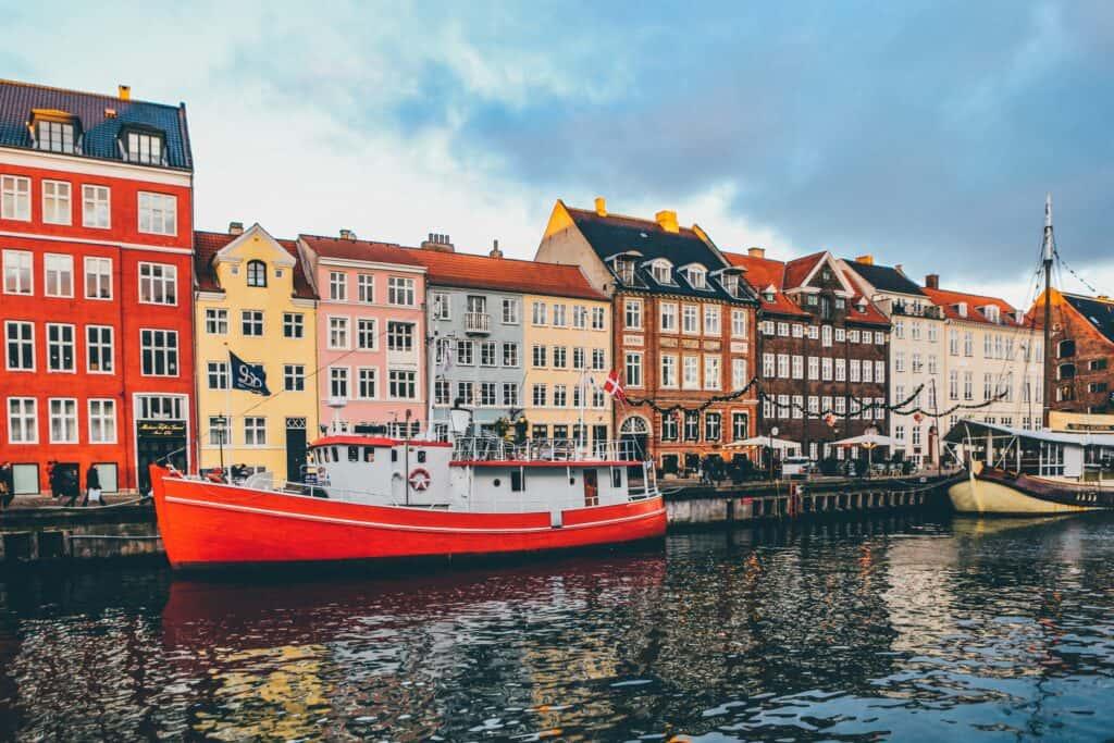 Copenhagen, Denmark in Winter
