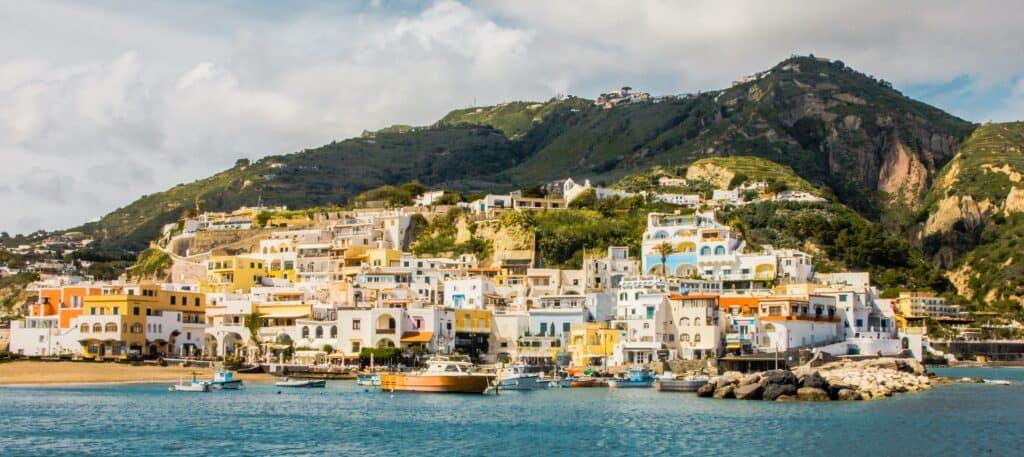 Ischia Island in Italy
