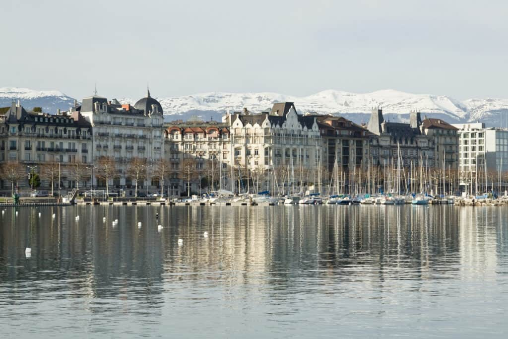 Geneva, Switzerland, is one of the best European cities to visit in January