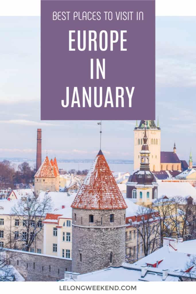 For all your winter wonderland dreams to come true, head to any of these magical European cities in January. We've rounded up the very best places to visit in Europe in January to make the most of winter - or to escape it completely and find some winter sun! #winter #europe #january #europeinwinter