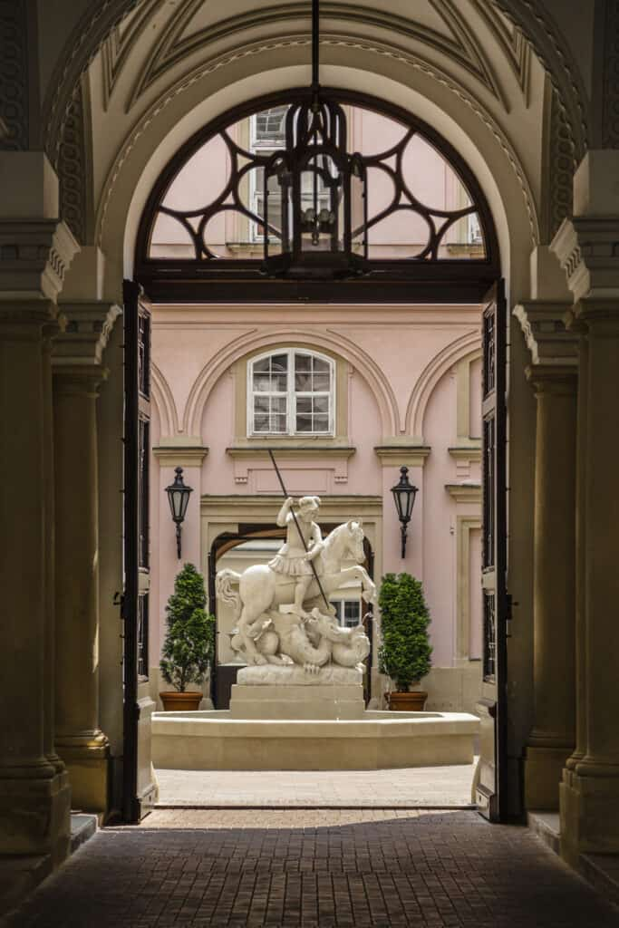 The Primate's Palace in Bratislava.