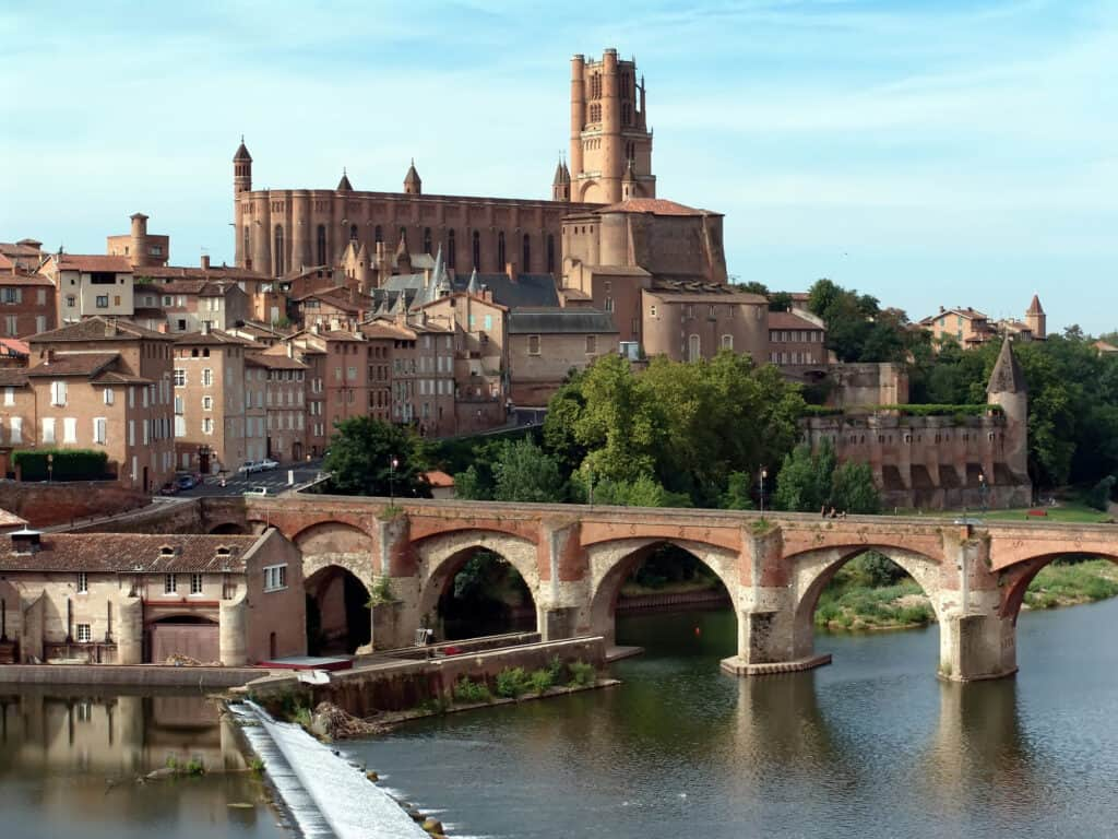 The town of Albi is one of France's many UNESCO sites.