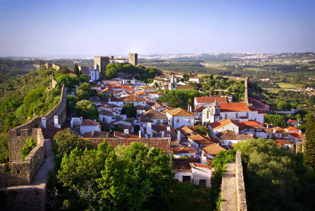 Head to Obidos village in Portugal in March for the annual chocolate festival!