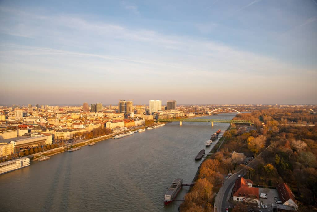 How to get to Bratislava from Vienna.