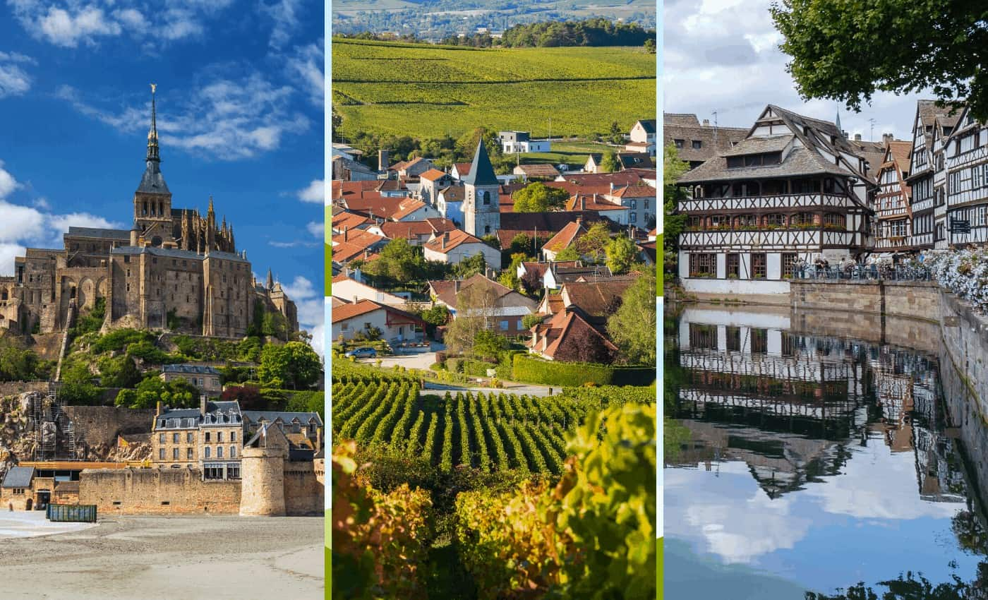 Historical places in France to visit