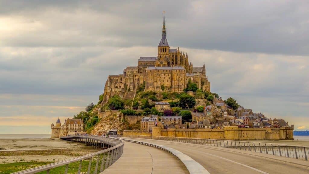 Mont Saint Michel is an important UNESCO site in France