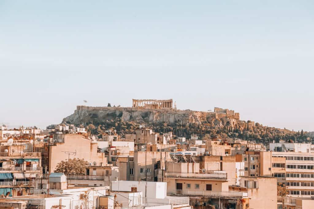 Athens, Greece, is one of the best places to visit in Europe in March