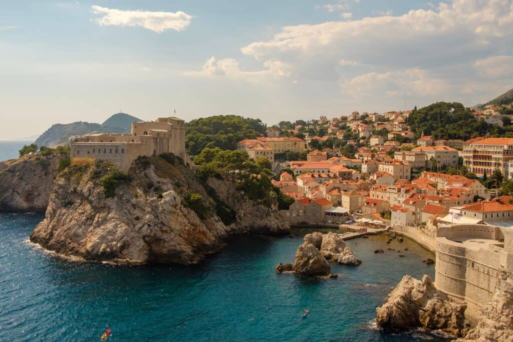 Crostia is one of the most beautiful countries to visit in Europe in March.