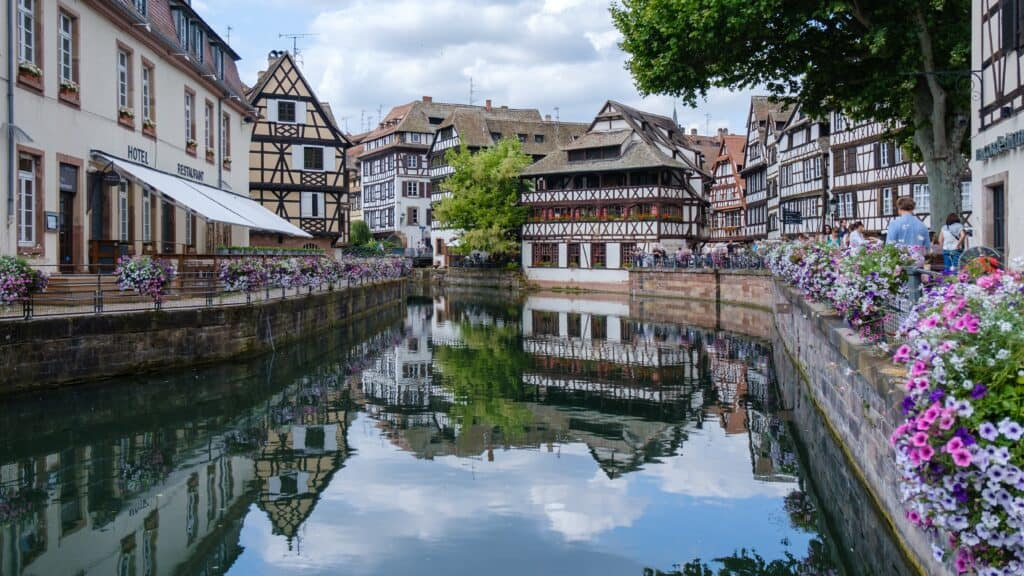Grande Ile and Neustadt, Strasbourg is one of France's most treasured UNESCO sites.