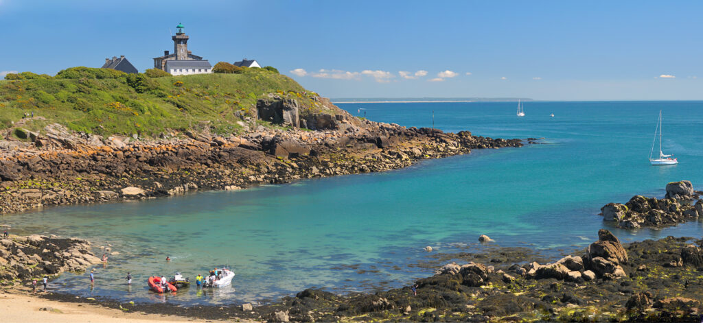 Chausey island in Normandy, France