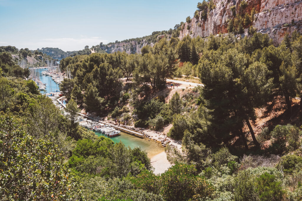 Port Miou in Cassis, France