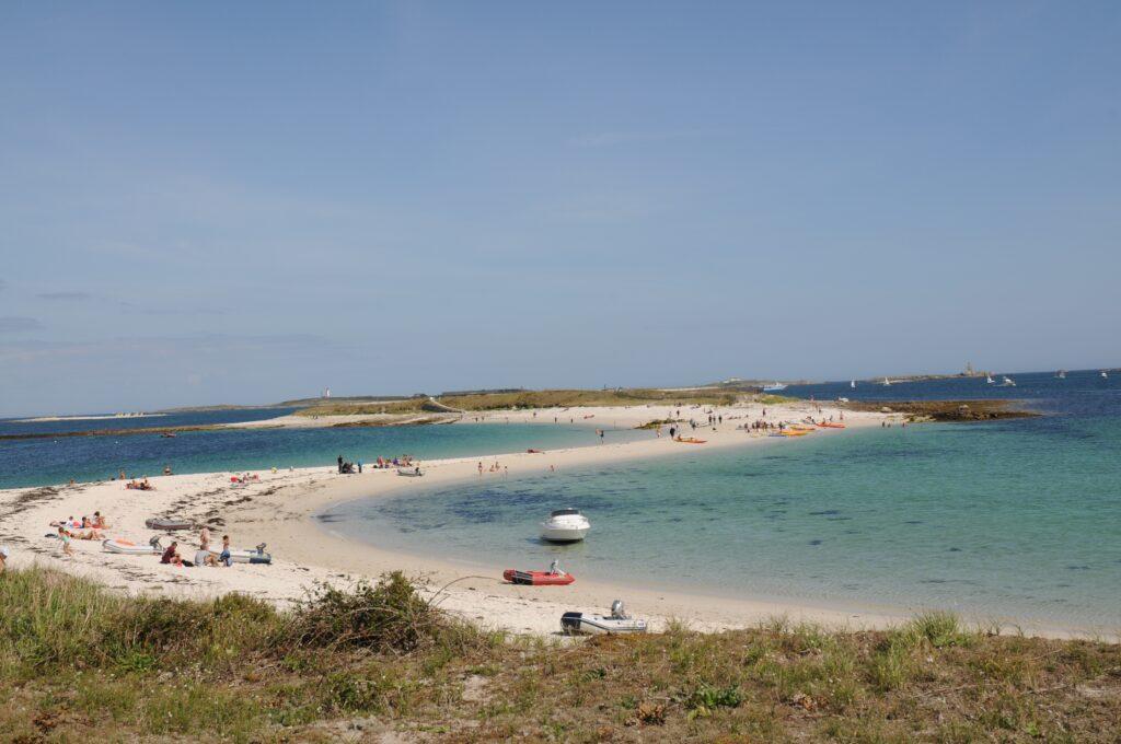 Glénan Islands off the coast of Brittany, France