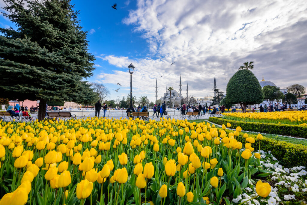 Istanbul is one of the best European cities to visit in April