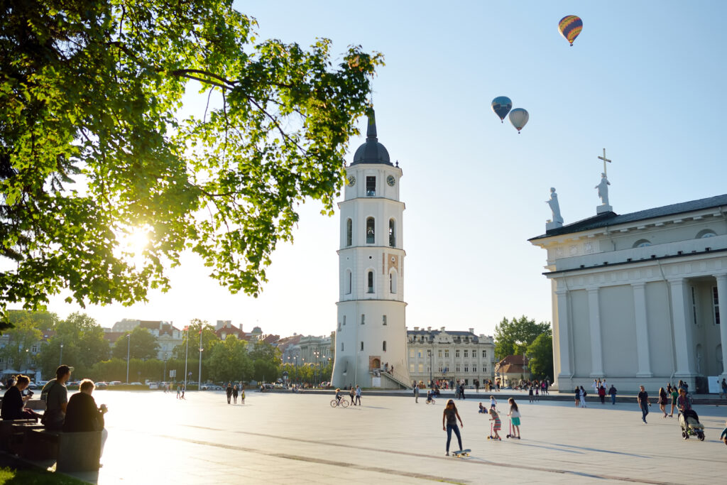 Vilnius, Lithuania is a key place to visit in Europe in May