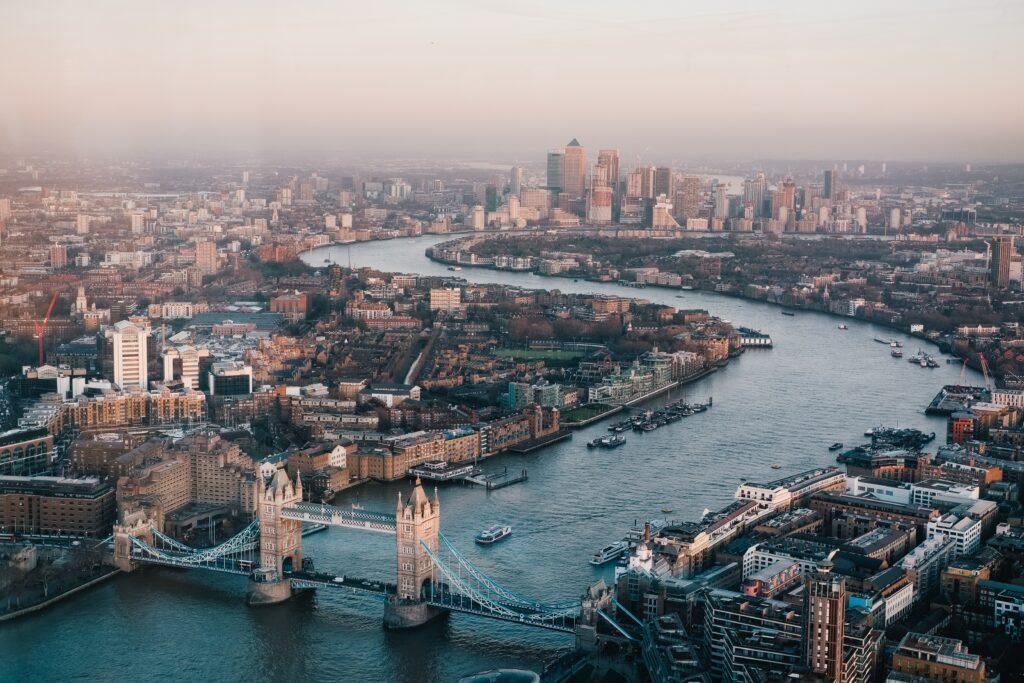 London, England in June