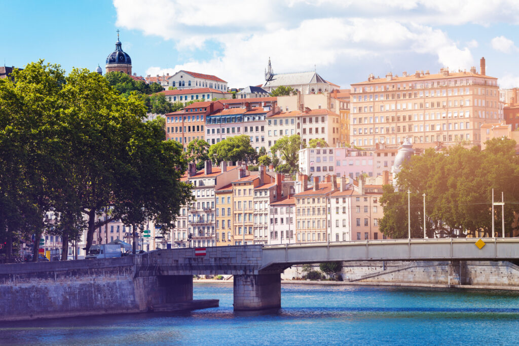 Lyon is one of the best European cities to visit in May.