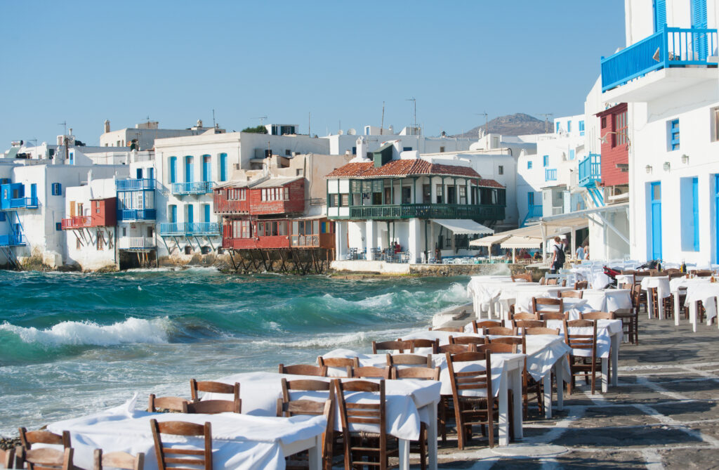 Mykonos is one of the best places to visit in Europe in June.