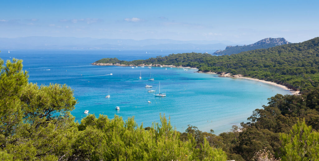 Porquerolles Island is one of the most beautiful islands in France